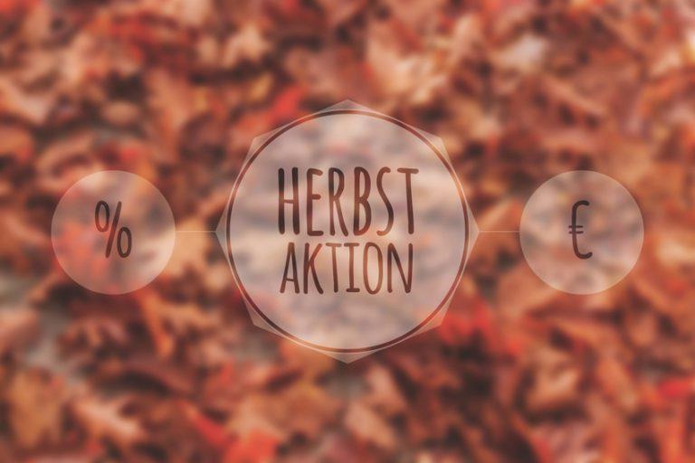 Herbstaktion beim eZigarerttenkoenig
