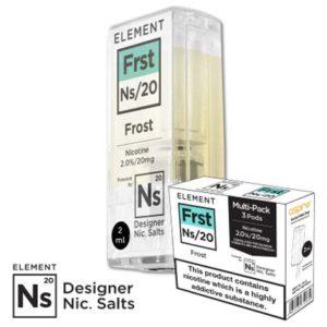Nikotinsalz Liquid Aspire Gusto ELEMENT Frst